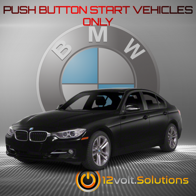 2006-2013 BMW 3-Series Plug and Play Remote Start Kit (Push Button Start)