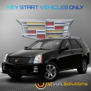 2007-2009 Cadillac SRX Plug & Play Remote Start Kit (Key Start)