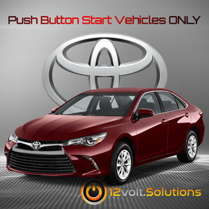 2007-2011 Toyota Camry Plug and Play Remote Start Kit (Push Button Start)