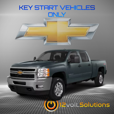 2007-2013 Chevrolet Silverado 1500 2500 3500 Plug & Play Remote Start Kit (Key Start)