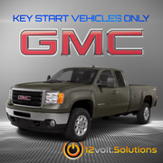 2007-2013 GMC Sierra 1500 2500 3500 Plug & Play Remote Start Kit (Key Start)