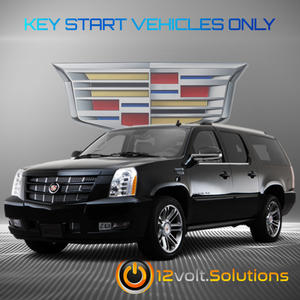 2007-2014 Cadillac Escalade Plug & Play Remote Start Kit (Key Start)