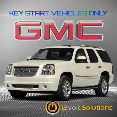 2007-2014 GMC Yukon Plug & Play Remote Start Kit (Key Start)