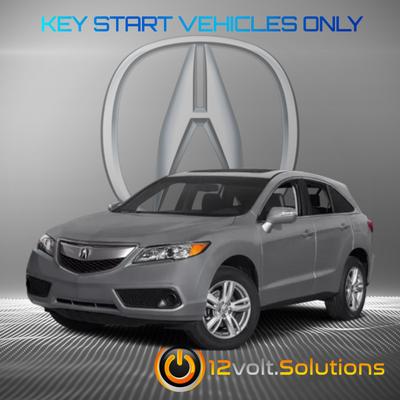 2007-2012 Acura RDX Plug & Play Remote Start Kit (standard key)