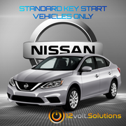 2007-2019 Nissan Sentra Remote Start Plug and Play Kit (Standard Key)