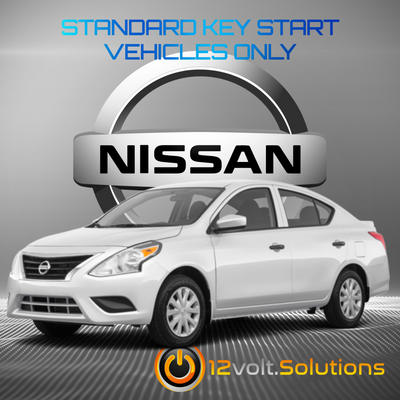2007-2019 Nissan Versa Remote Start Plug and Play Kit (Standard Key)