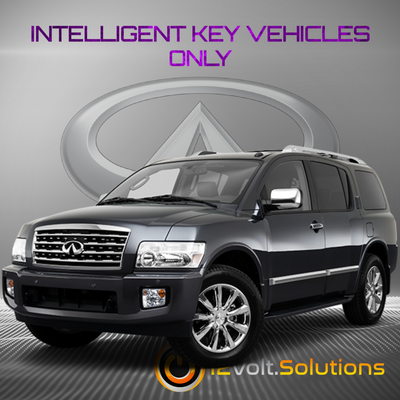 2008-2010 Infiniti QX56 Remote Start Plug and Play Kit (Intelligent Key)