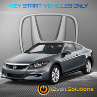 2008-2012 Honda Accord Plug & Play Remote Start Kit (standard key)