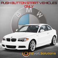 2008-2013 BMW 1-Series Plug and Play Remote Start Kit (Push Button Start)