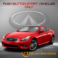 2008-2013 Infiniti G37 Remote Start Plug & Play Kit (Push Button Start)