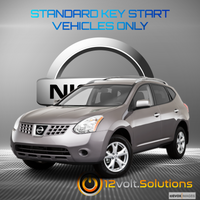 2008-2013 Nissan Rogue Remote Start Plug and Play Kit (Standard Key)
