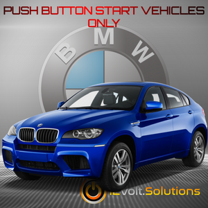 2008-2014 BMW X6 Plug and Play Remote Start Kit (Push Button Start)
