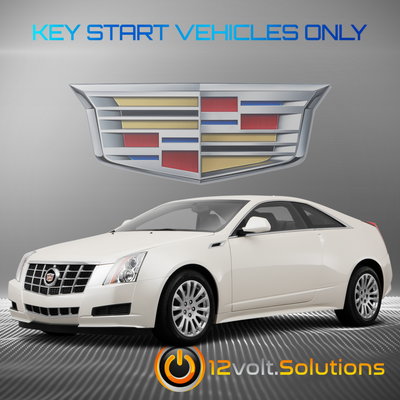 2008-2014 Cadillac CTS Plug & Play Remote Start Kit (Key Start)
