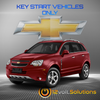 2008-2015 Chevrolet Captiva Plug & Play Remote Start Kit (Key Start)