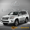 2008-2015 Lexus LX 570 Plug & Play Remote Start Kit (Push Button Start)