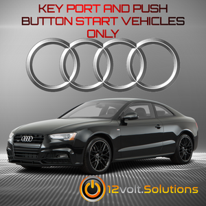 2008-2017 Audi A5/Sportback Plug and Play Remote Start Kit