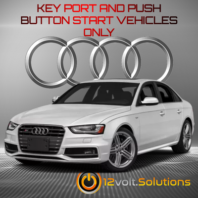 2009-2016 Audi S4 Plug and Play Remote Start Kit
