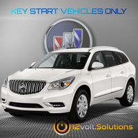 2008-2017 Buick Enclave Plug & Play Remote Start Kit (Key Start)