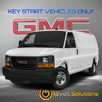 2008-2017 GMC Savana Van Plug & Play Remote Start Kit (Key Start)