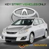 2009-2010 Toyota Matrix Plug & Play Remote Start Kit