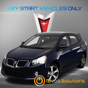 2009-2010 Pontiac Vibe Plug & Play Remote Start Kit
