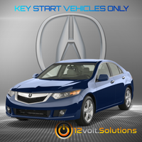 2009-2014 Acura TSX Plug & Play Remote Start Kit (standard key)