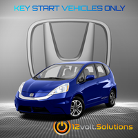 2009-2014 Honda Fit Plug & Play Remote Start Kit (standard key)