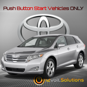 2009-2014 Toyota Venza Plug and Play Remote Start Kit (Push Button Start)