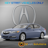 2009-2014 Acura TL Plug & Play Remote Start Kit (standard key)