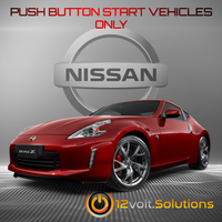 2009-2017 Nissan 370z Remote Start Plug and Play Kit (Push Button Start)