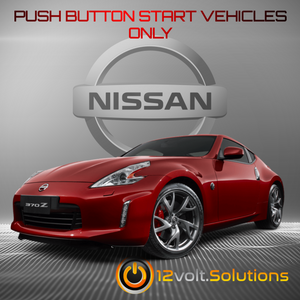 2009-2018 Nissan 370z Remote Start Plug and Play Kit (Push Button Start)