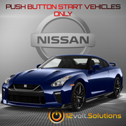 2009-2019 Nissan GT-R Remote Start Plug and Play Kit (Push Button Start)