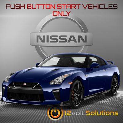2009-2018 Nissan GT-R Remote Start Plug and Play Kit (Push Button Start)