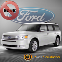 2009-2012 Ford Flex Remote Start Plug and Play Kit