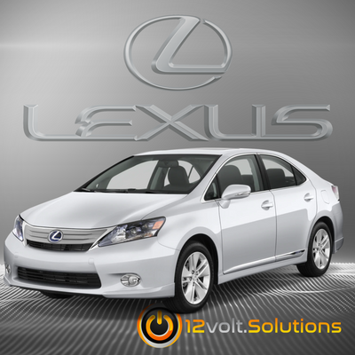 2010-2012 Lexus HS250h Plug & Play Remote Start Kit (Push Button Start)