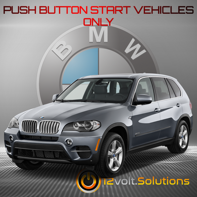 2010-2013 BMW X5 M-Series Plug and Play Remote Start Kit (Push Button Start)