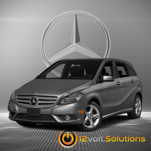 2012-2014 Mercedes Benz B-Class Plug & Play Remote Start Kit