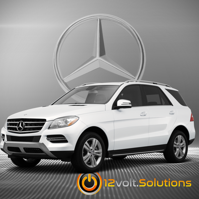 2010-2014 Mercedes Benz GLK-Class Plug & Play Remote Start Kit