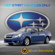 2010-2014 Subaru Legacy Plug & Play Remote Start Kit (Key Start)