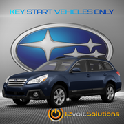 2010-2014 Subaru Outback Plug & Play Remote Start Kit (Key Start)