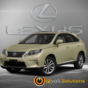 2010-2015 Lexus RX350 Plug & Play Remote Start Kit (Push Button Start)