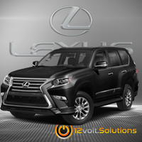 2010-2018 Lexus GX460 Plug & Play Remote Start Kit (Push Button Start)
