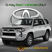 2010-2019 Toyota 4Runner Plug & Play Remote Start Kit (G-Key)