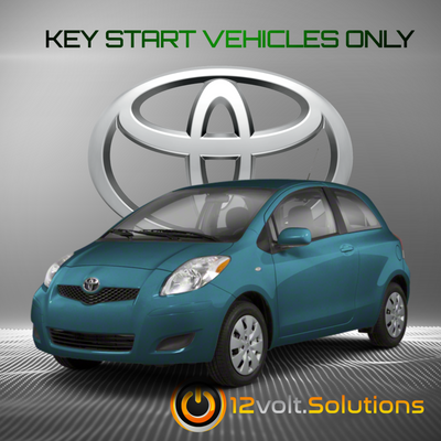 2006-2010 Toyota Yaris Plug & Play Remote Start Kit (Key Start)