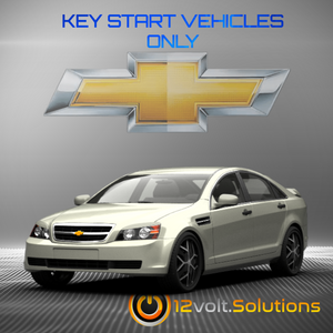 2011-2013 Chevrolet Caprice Plug & Play Remote Start Kit (Key Start)
