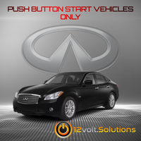 2011-2013 Infiniti M35h Remote Start Plug and Play Kit (Push Button Start)