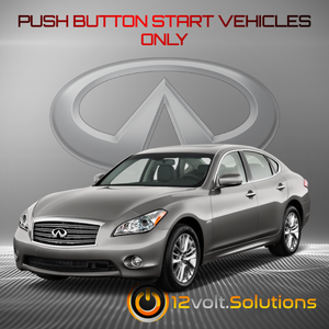2011-2013 Infiniti M37 Remote Start Plug and Play Kit (Push Button Start)