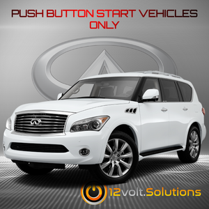 2011-2013 Infiniti QX56 Remote Start Plug and Play Kit (Push Button Start)