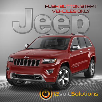 2011-2013 Jeep Grand Cherokee Plug & Play Remote Start Kit (Push Button Start)