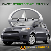 2011-2014 Scion XD Plug & Play Remote Start Kit (G-Key)